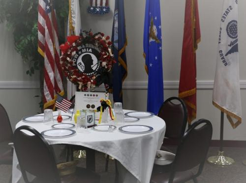 POW*MIA Table